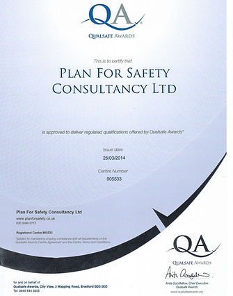 Plan For Safety|Qualsafe Centre