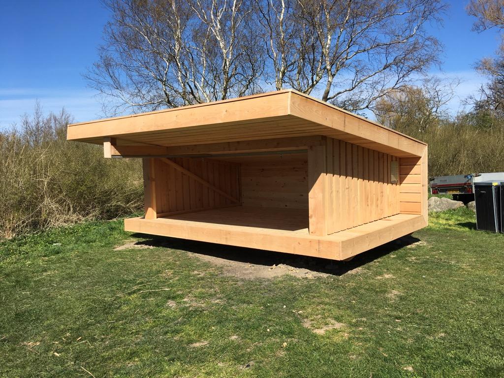 Shelter (NST type 7.1, tilgængelighedstilpasset)