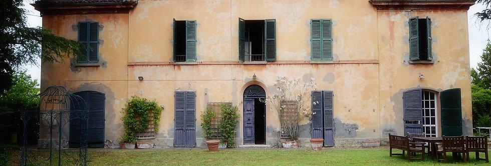 Ampia villa padronale su lotto di 1.500mq, Cava - Romiti, Forlì