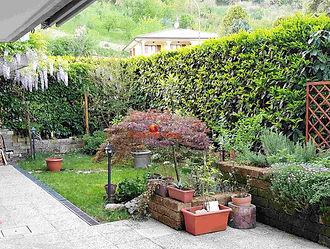 Appartamento con giardino, Casone, Dovad