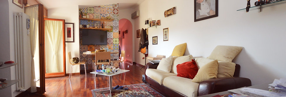 Appartamento mansardato via G. Pellegrino Dandi, Ronco, Forlì