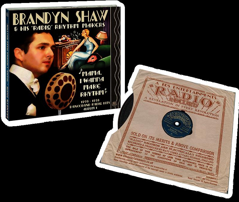 Brandyn Shaw CD, Mama, I Wanna Make Rhythm