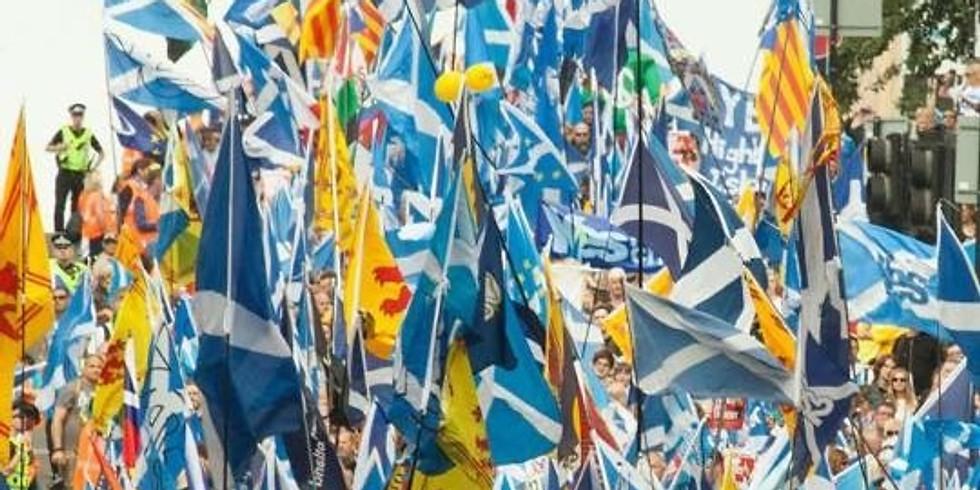Yes Edinburgh East after Rally Gig