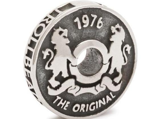 TROLLBEADS TROLL COIN BEAD TAGBE 60006