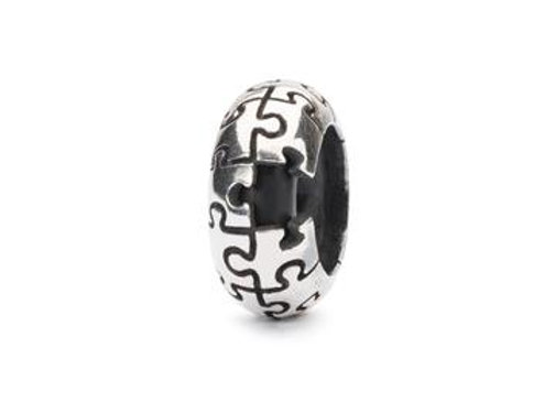 TROLLBEADS PUZZEL SPACER TAGBE 20207