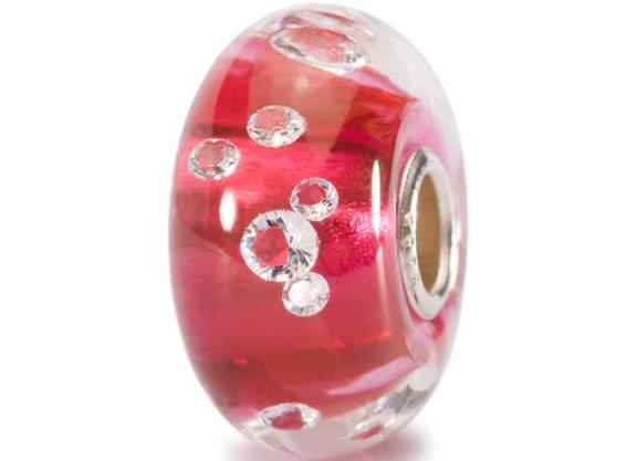 TROLLBEADS THE DIAMOND BEAD,PINK TGLBE 00017