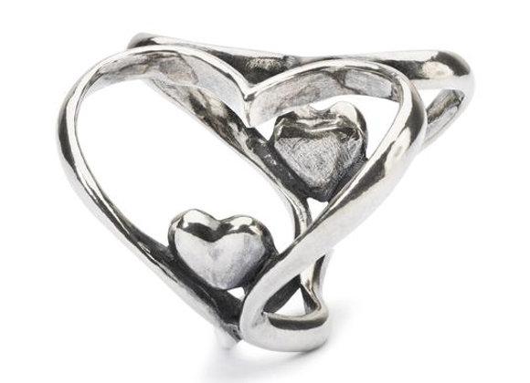TROLLBEADS HEART TO HEART PENDANT TAGPE 00071