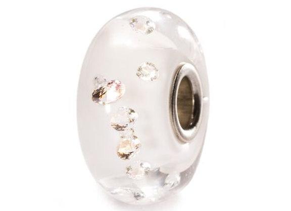 TROLLBEADS THE DIAMOND BEAD,WHITE TLGBE 00069