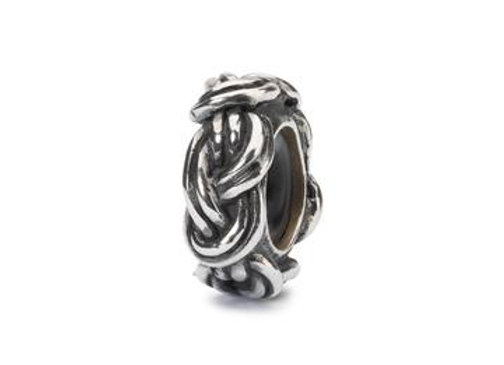 TROLLBEADS SAVOY KNOT SPACER TAGBE 20201