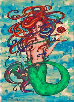 Ariel the Mermaid (in darkness)