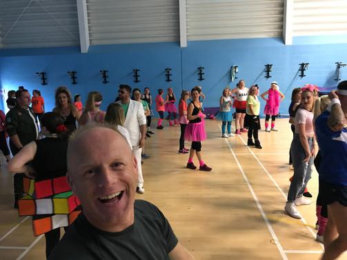 80's Dance-a-thon @ Armley Leisure Centre
