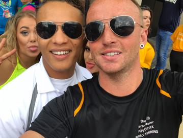 Danny and Matt Leeds Pride 2017