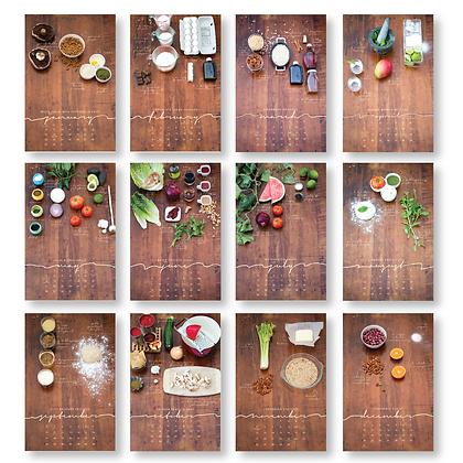 2020 Local/Seasonal Recipe Mini Calendar