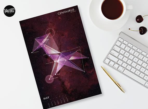 2021 Stargazing Mini Calendar