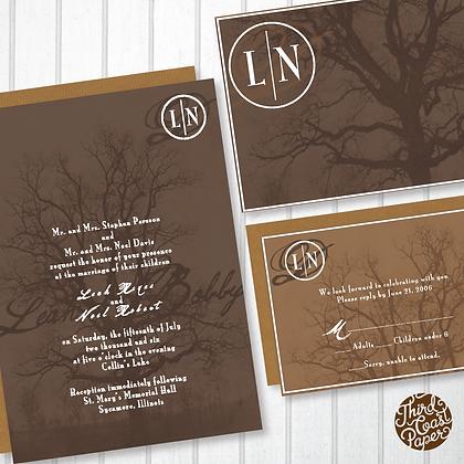 Grove Wedding Invitation