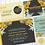 Thumbnail: Mustard & Mint Floral Bud Wedding Invitation