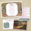 Thumbnail: Antique Map Travel Wedding Invitation