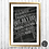 """Thumbnail: Emily Bronte """"Wuthering Heights"""" Chalkboard Print"""