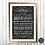 "Thumbnail: Charles Dickens ""August"" Chalkboard Print"