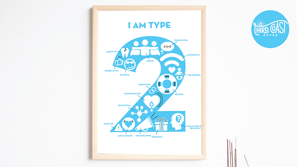 Enneagram TWO Poster