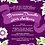 Thumbnail: Shabby Chic Floral Wedding Invitation