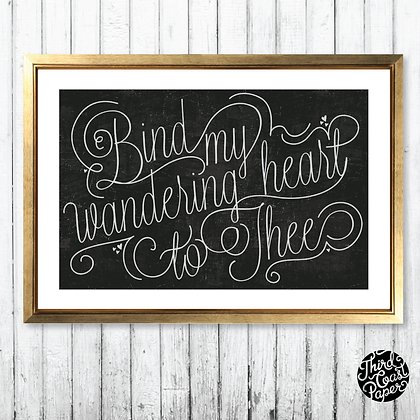 Wandering Heart Print