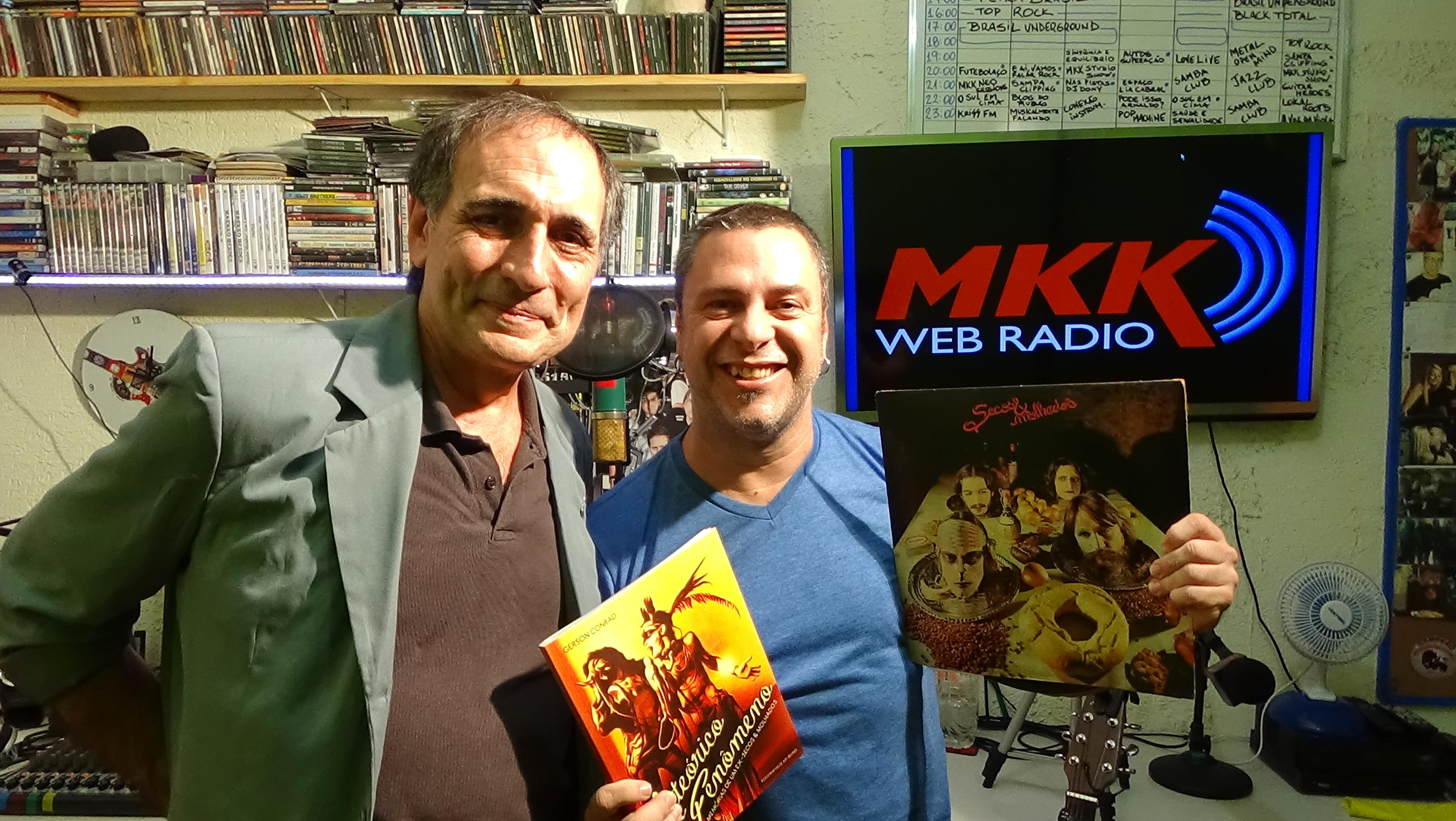Markko Mendes e Gerson Conrad