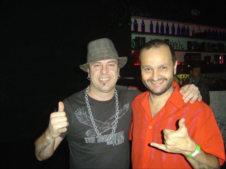 Markko Mendes e Marco Matoli