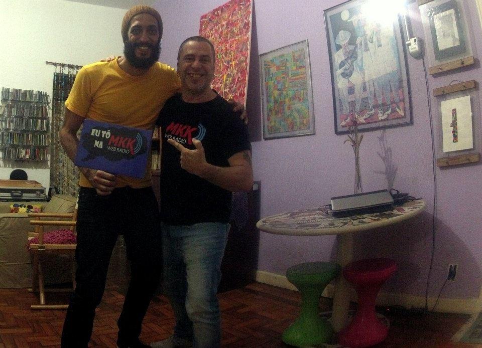 Markko Mendes e Robinho Tavares