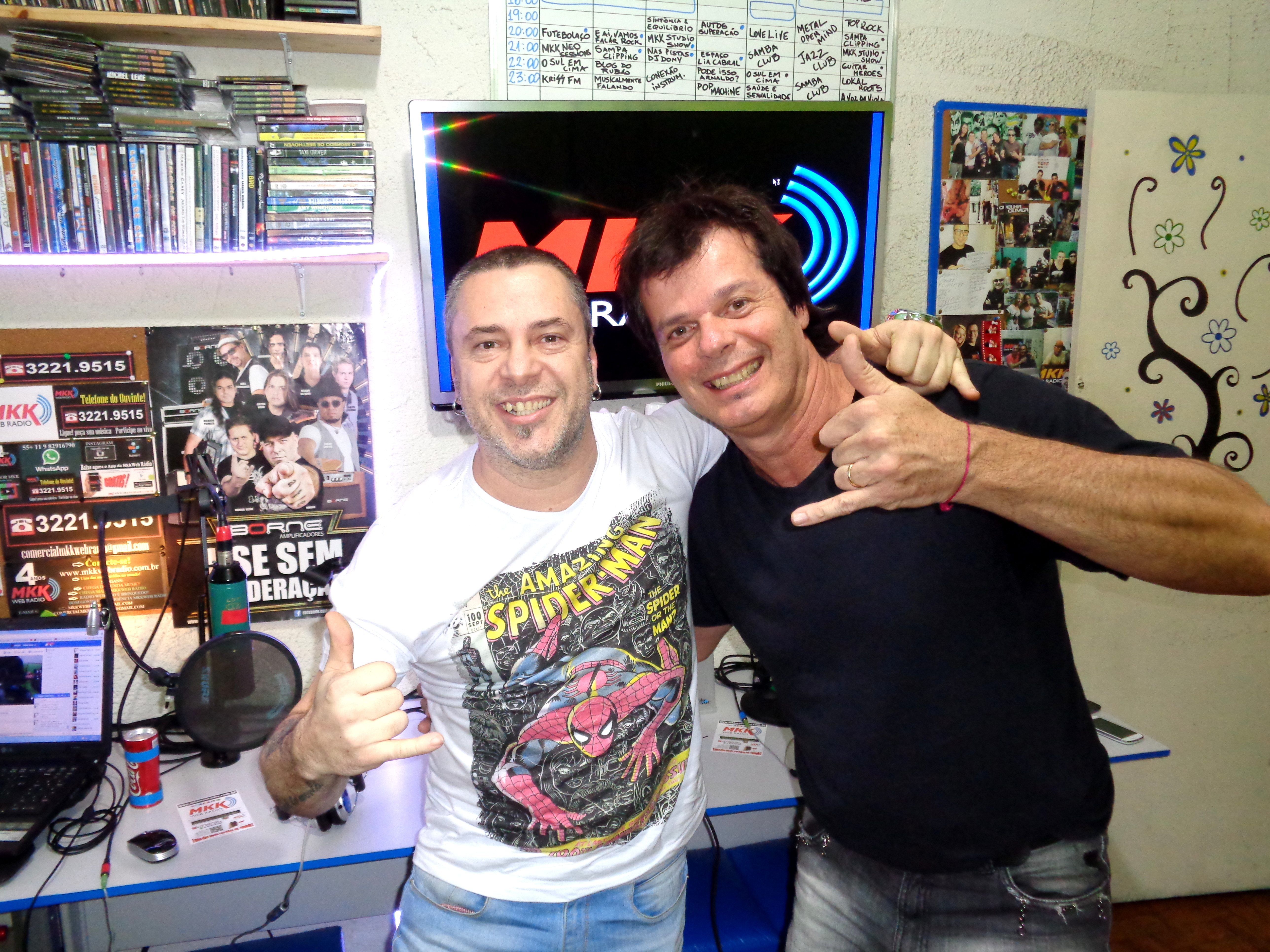 Markko Mendes e Fernando Deluqui