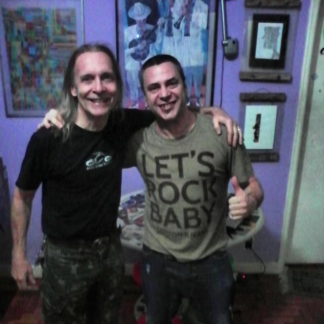 Markko Mendes e Sergio Hinds
