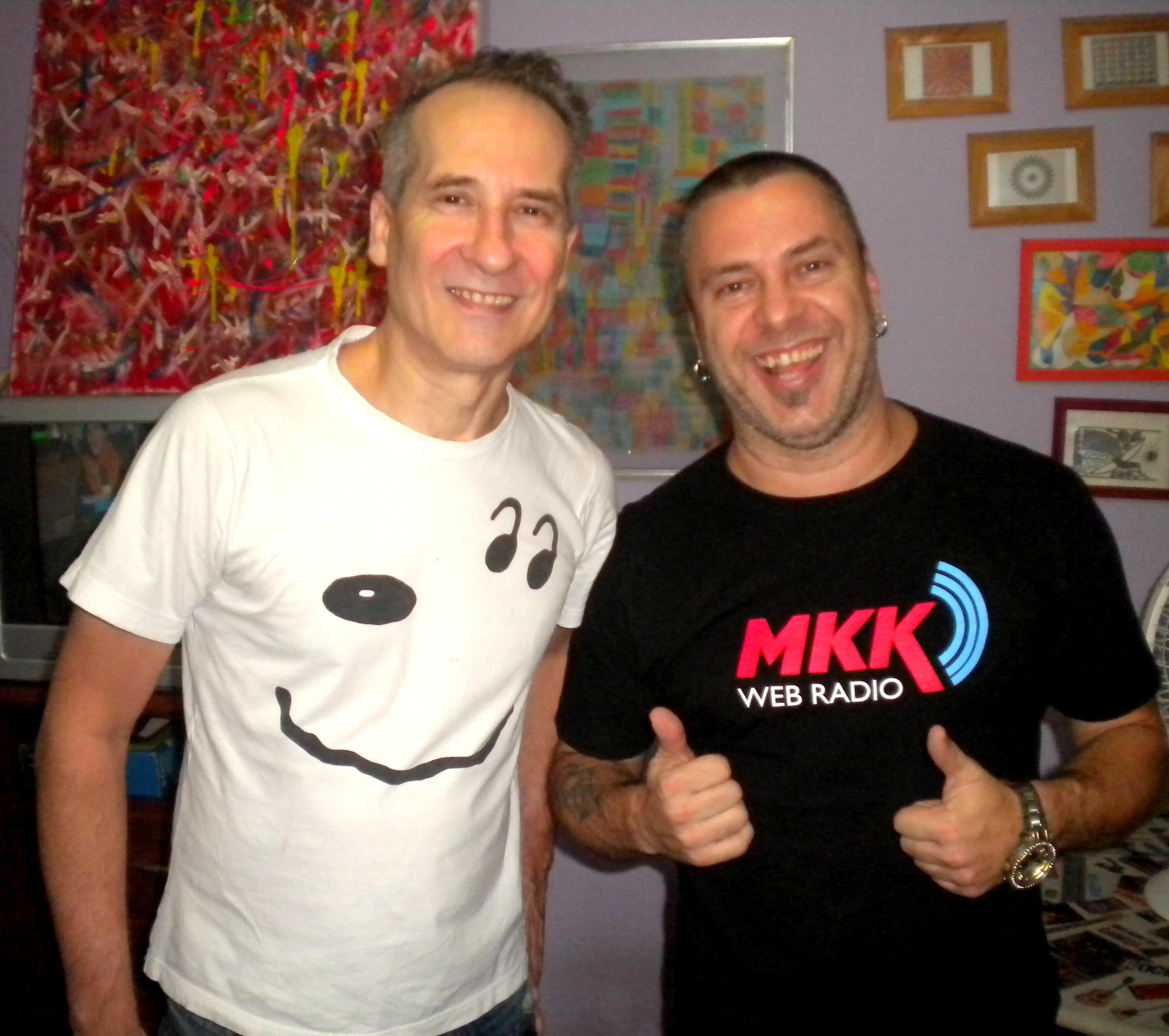 Markko Mendes e Kiko Zambiachi