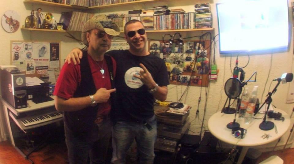 Markko Mendes e Oswaldo Vecchio