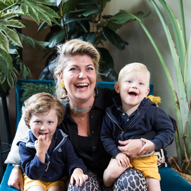 Pauline, Diederik en Reinier