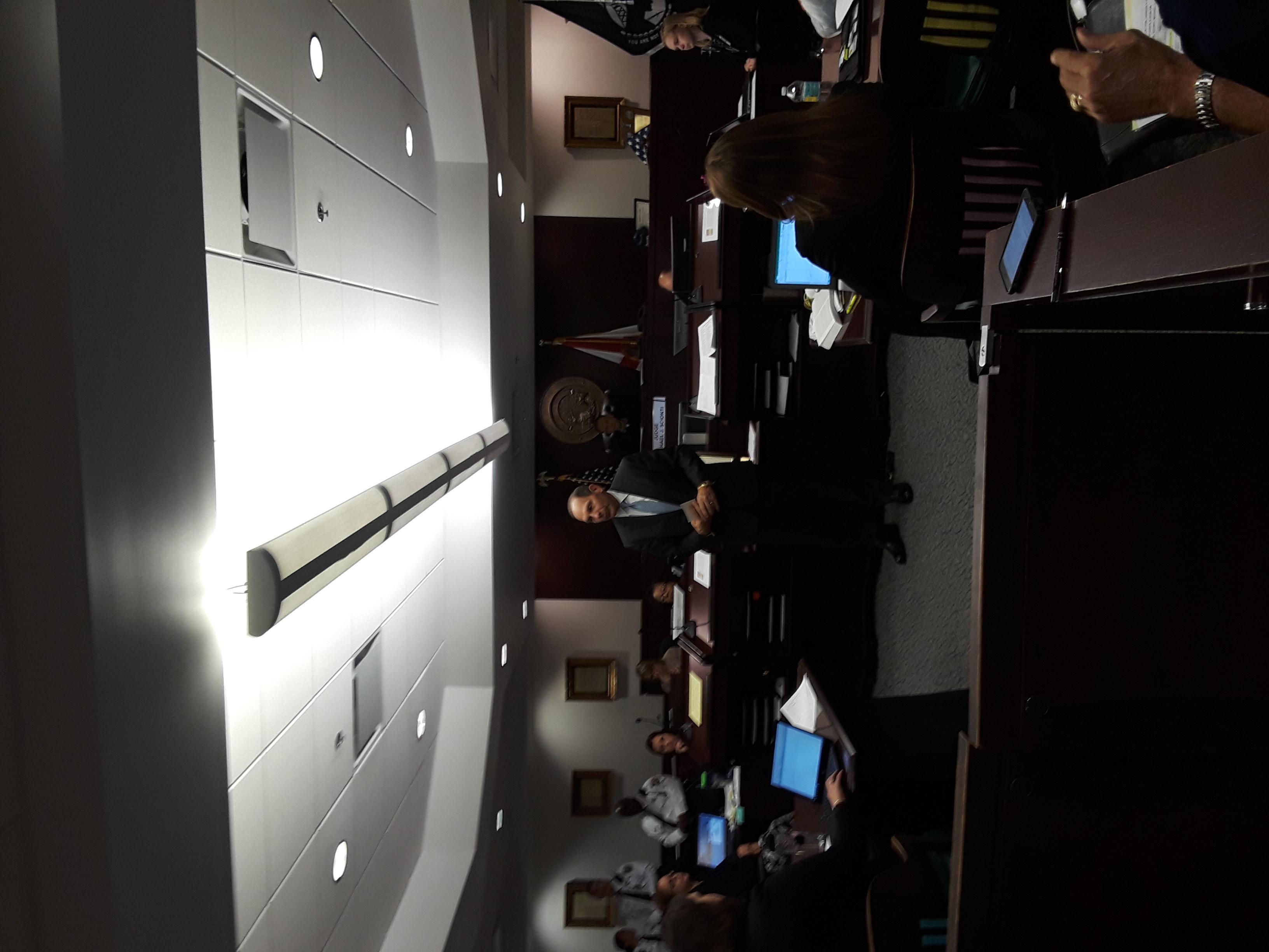 Bob McDonald addressing Tampa VTC1