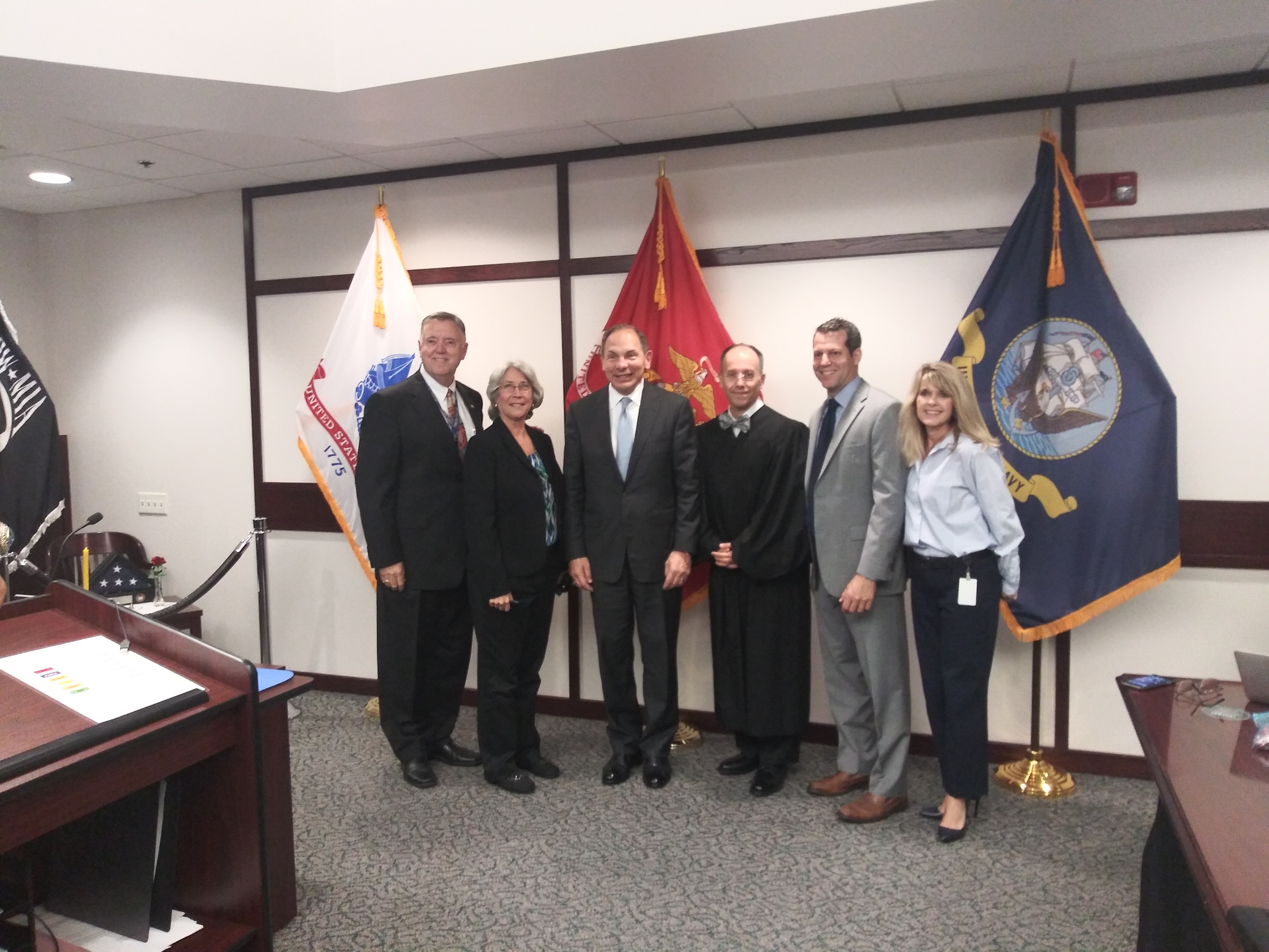Former SECVA with 3th Judicial Circuit S