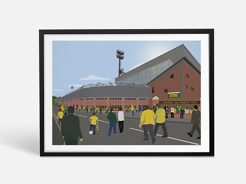Carrow Road (Limited Edition) - Norwich City