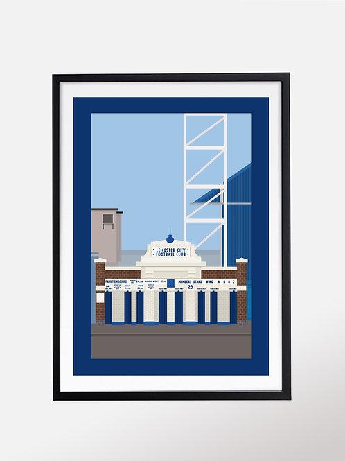 Filbert Street - home of Leicester City