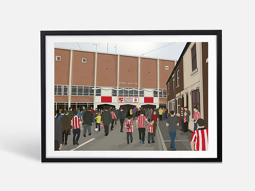 Victoria Ground - Stoke City (Limited Edition)