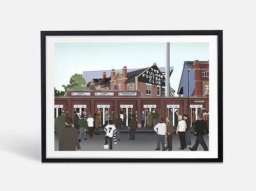 Craven Cottage - Fulham (Limited Edition)