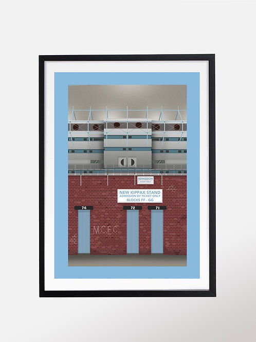 The Kippax, Maine Road; home of Manchester City
