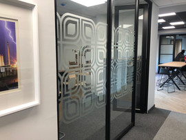 Cut Out Frosted Vinyl