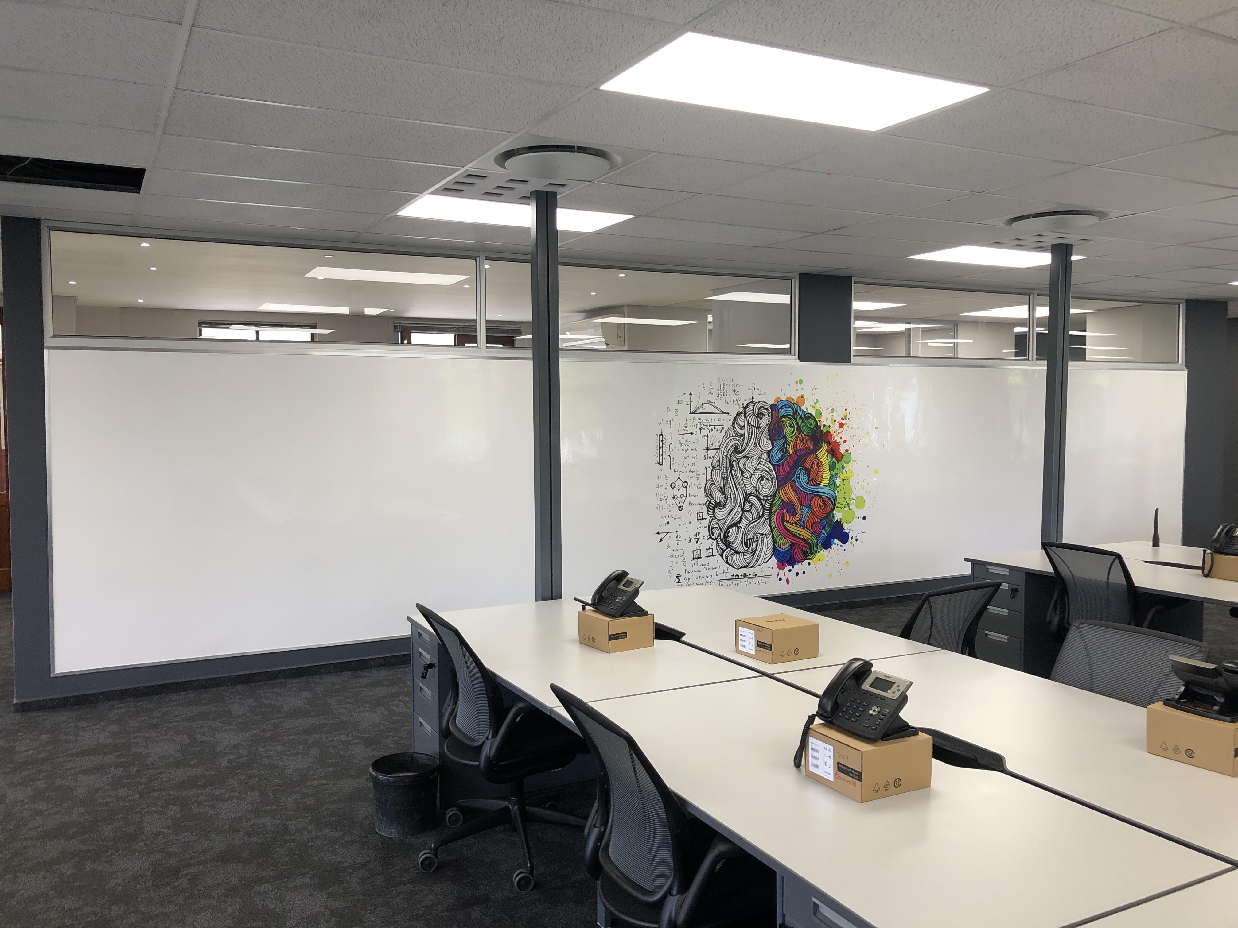 Custom Print Whiteboard Wallpaper