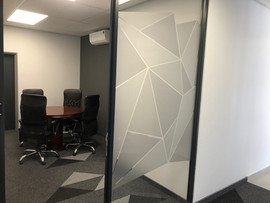 Digitally Printed Cut Out Frosted Vinyl