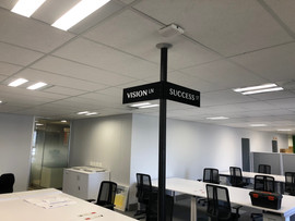 Perspex Way Finding Signs