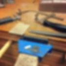 Friday night making jewelry.jpg Making a