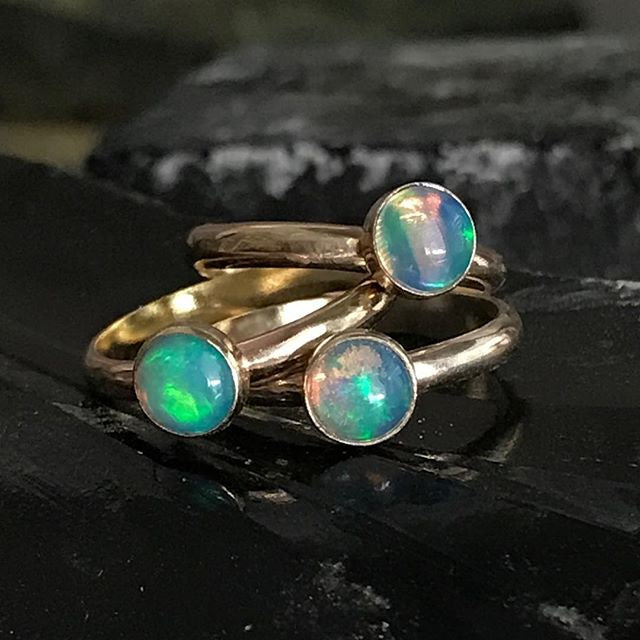 Gold Filled Opal Ring-10/02/21@9:30am