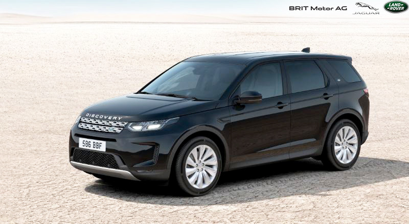 Noul Land Rover Discovery Sport