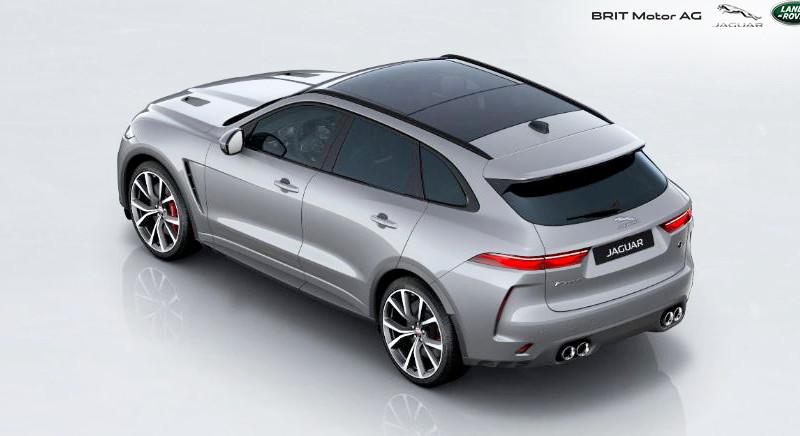 Noul Jaguar F-PACE SVR