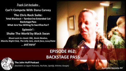 Episode #62: Backstage Pass